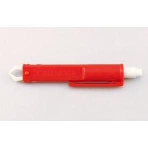 Tekenpincet, automatisch  9,5 cm, kunststof - verpakt per 500 stuks.