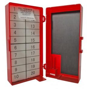 Magnetische naaldenverzamelaar 11,4 x 5 ,5 x 3,7 cm - verpakt per 253 stuks