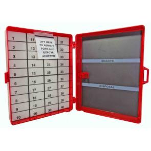 Magnetische naaldenverzamelaar 12 x 9, 3 x 3,8 cm  - verpakt per 100 stuks