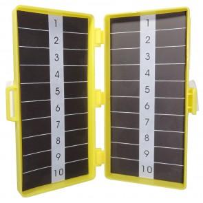 Magnetische naaldenverzamelaar  11,5 x 5, 5 x 3,2 cm 2 x 20 st.   - verpakt per 168 stuks