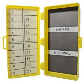 Magnetische naaldenverzamelaar 11,5 x 5 ,5 x 3,2 cm 20 st. - verpakt per 64 stuks