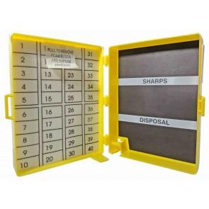 Magnetische naaldenverzamelaar 12 x 9 , 2x 3,5 cm 40 st. - verpakt per 64 stuks