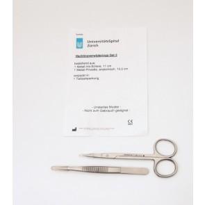 Hechtingsverwijderingset type 2 met Vergulde Markering - doos: 50 stuks