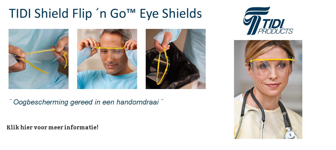 Tidi Disposable Veiligheidsbrillen